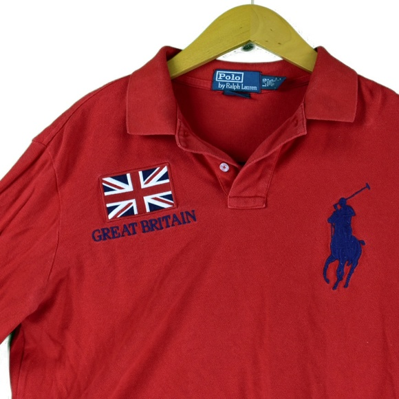 Britain Rugby Shirt Polo Ralph Great Lauren ymP80nONvw